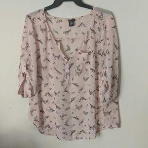 Torrid flowy blouse